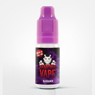 VAMPIRE VAPE - Black Jack Liquid 10ml