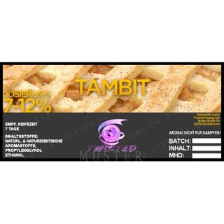 TWISTED FLAVOURS - Tambit Aroma  (MHD WARE)