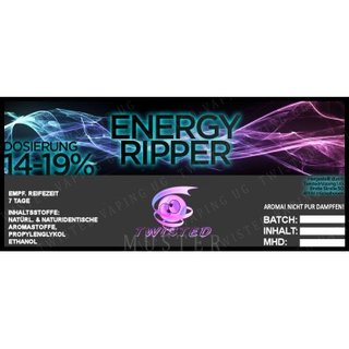 TWISTED FLAVOURS - Energy Ripper Aroma (MHD WARE)