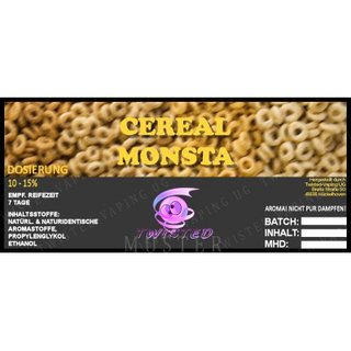 TWISTED FLAVOURS - Cereal Monsta Aroma (MHD WARE)
