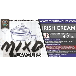 MIXD FLAVOURS - Irish Cream (MHD WARE)