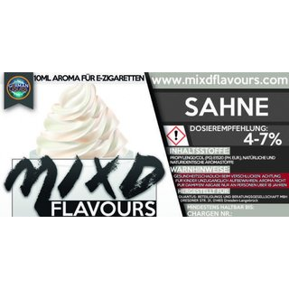 MIXD FLAVOURS - Sahne Aroma (MHD WARE)