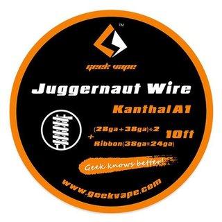 GEEK VAPE - Kanthal A1 Juggernaut Wire ZK11 - 10ft