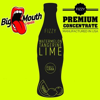 BIG MOUTH - FIZZY - Watermelon | Tangerine | Lime Aroma