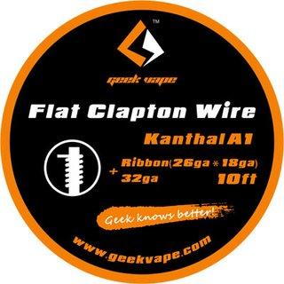 GEEK VAPE - Flat Clapton Wire ZK08 - 10ft