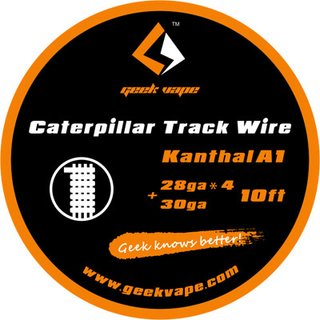 GEEK VAPE - Caterpillar Track Wire - 10ft