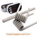 GEEK VAPE - 4 + 4 Pack Fused Clapton Coil 2 in 1