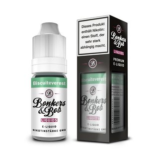 BONKERS & BOB - Biscuiteverest Liquid 10 ml 6 mg