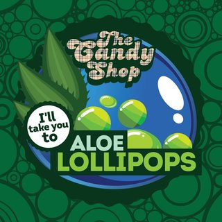 BIG MOUTH - THE CANDY SHOP - Aloe Lollipops Aroma