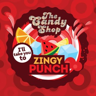 BIG MOUTH - THE CANDY SHOP - Zingy Punch Aroma