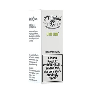 CUTTWOOD - Livid Lime Liquid 10ml