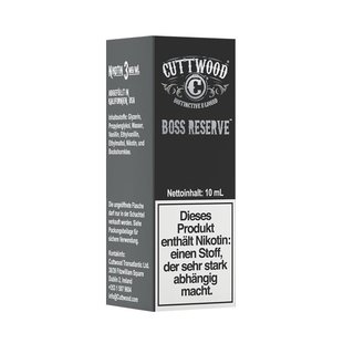 CUTTWOOD - Boss Reserve Liquid 10ml