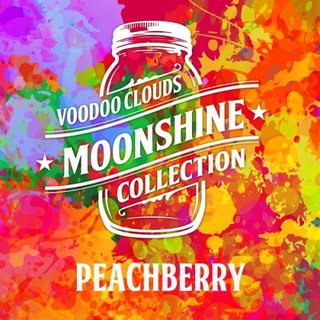 VOODOO CLOUDS - Moonshine - Peachberry Aroma