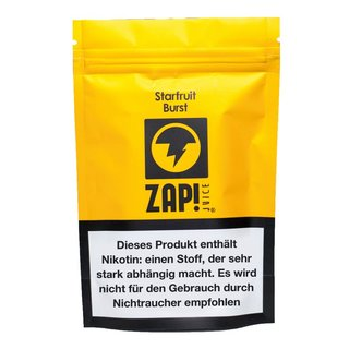 ZAP JUICE! - Starfruit Burst Liquid Multipack 3x10ml MHD...