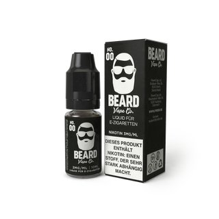 BEARD VAPE - No. 00 Liquid 10ml