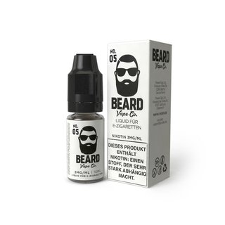 BEARD VAPE - No. 05 Liquid