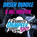 UNICAT DESIGNS - Basen Bundle 3mg Nikotin 80% VG / 20% PG...