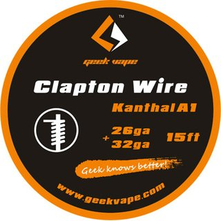 GEEK VAPE - Clapton Wire ZK12 - 15ft