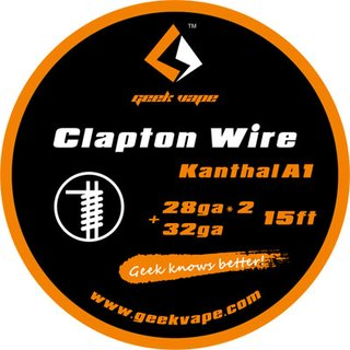 GEEK VAPE - Clapton Wire ZK13 - 15ft