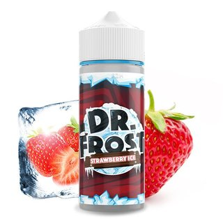 DR. FROST - Strawberry Ice 100ml Liquid PLUS