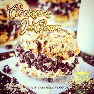 VAPE N GLORY KINGS SERIE - Cookies n Ice Cream Multipack...