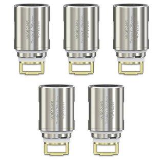 WISMEC - 5er Pack WS02 NS Triple Heads Coils Verdampferköpfe für Elabo 0,25 Ohm