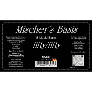MISCHERS BASIS - fifty/fifty 1000ml