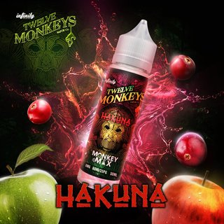 TWELVE MONKEYS - Hakuna (Apfel-Mix) 50ml Liquid PLUS