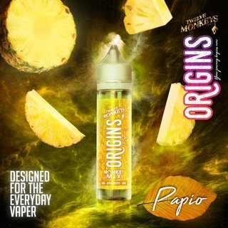 TWELVE MONKEYS - Origins Papio 50ml Liquid PLUS
