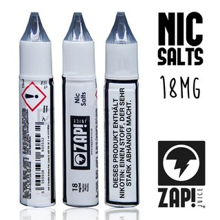 ZAP JUICE! - Nic Salts Shots - 18 mg/ml