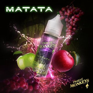 TWELVE MONKEYS - Matata (Traube & Apfel) 50ml Liquid PLUS