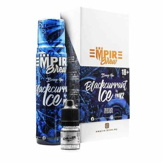 EMPIRE BREW - Blackcurrant Ice 50ml Liquid + 10ml Chiller...