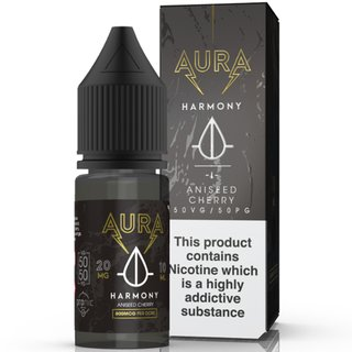 AURA - Harmony Dark Cherry NicSalt Liquid 10ml