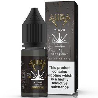 AURA - Vigor Spearmint NicSalt Liquid 10ml