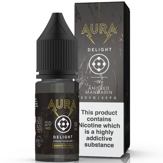 AURA - Delight Dark Mandarin NicSalt Liquid 10ml