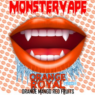MONSTERVAPE - Orange Royal Longfill Aroma