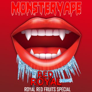 MONSTERVAPE - Red Royal Longfill Aroma