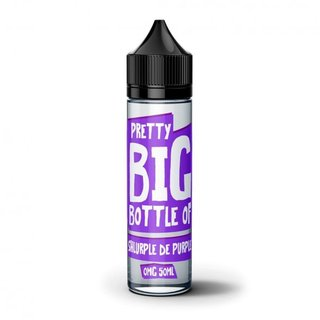 Pretty Big Bottle - Shlurple De Purple 50ml Shortfill Liquid