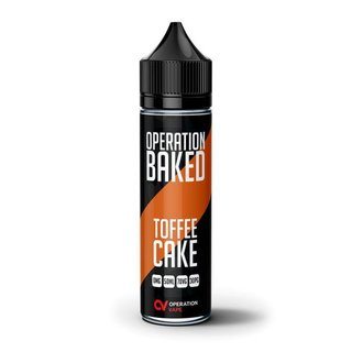 Operation Baked - Toffee Cake 50ml Shortfill Liquid