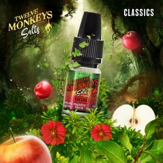 TWELVE MONKEYS - Hakuna (Apfel-Mix) 10ml Nikotinsalz Liquid