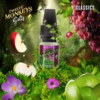 TWELVE MONKEYS - Matata (Traube & Apfel) 10ml Nikotinsalz Liquid