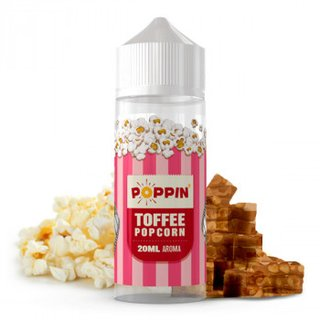 POPPIN - Toffee Popcorn Longfill Aroma