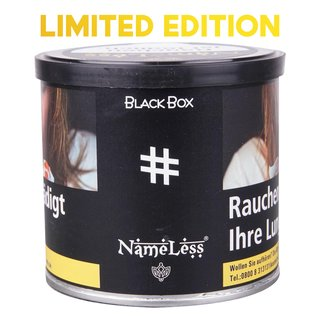 NAMELESS - # Black Box Shisha Tabak