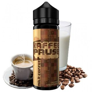 STEAMSHOTS - Kaffeepause Milk Coffee Longffill Aroma