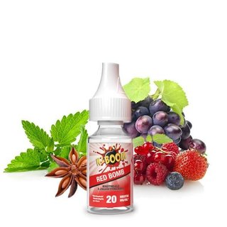 K-BOOM - Red Bomb NIKOTINSALZ Liquid 10ml