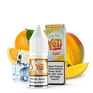 YETI - Orange Mango NIKOTINSALZ Liquid